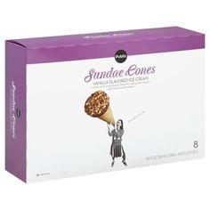 Publix Sundae Cones, Vanilla