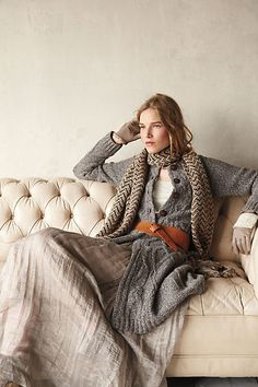 scandinavian chic winter folk lagenlook en trend textured and layered casual waer for alice on chilly days Beautifully paired outfit. Looks Street Style, Looks Style, Style Me, Photography Tattoo, Fashion Foto, Winter Stil, Cozy Winter, Fall Winter, Mein Style