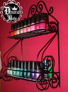 Nail Polish / Spice Rack