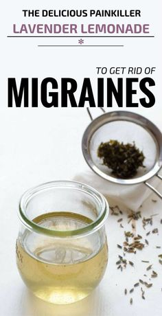 Migraines affect many people and even if the ache most of the time doesn't persist, they are very unpleasant and not the least…extremely painful. Doctors prescribe medications to combat headaches, but they often also have side effects. There are, fortunately, natural treatments for getting rid of a migraine effectively. Lavender lemonade is one of the most enjoyable natural treatments for this disease. Lavender Lemonade Recipe - 1/4 cup of organic dry lavender or 1 drop of lavender essen...