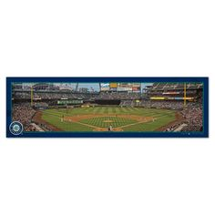 Seattle Mariners 9'' x 30'' Panoramic Wood Sign