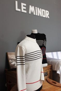 "Pull marin ""Gwalarn"" by ODIVI - Design Owen Poho Fabrication Le Minor à Guidel #mariniere"