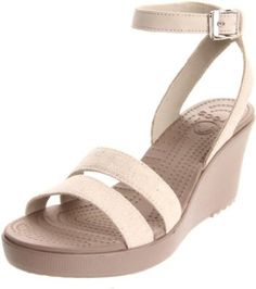 099891386e232d Stunning Womens Shoes   Crocs Womens Leigh Wedge Sandal