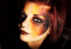 Make-up by Bextacy!: FIRE Element Inspired Make-Up Look