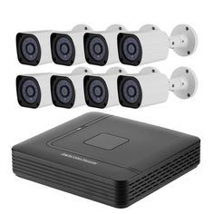 8 Channel Full-HD DVR System - 1/2.7 CMOS, 1080p Resolution, 20M Night Vision, IP66 Waterproof, 5 Recording Modes - 8 Channel DVR System significantly increases the security of your property. With its 1/2.7-Inch CMOS sensors and IR LEDs it captures everything at day and night