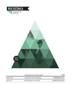 Red Escénica Magazine by Casmic Lab , via Behance