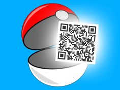 Pokémon Sun and Moon use QR codes. A new way to play, interact and… Catch 'Em All using Pokémon QR codes! #Pokémon #QR #Codes