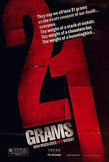 21 Grams - Wikipedia, the free encyclopedia