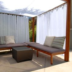 Oudoor shade structures are available in a vast variety. We have information on them all plus other outdoor cooling methods Outdoor Venues, Outdoor Decor, Outdoor Shade, Shade Structure, Amazing Spaces, Cabana, Real Estate, Outdoor Furniture, Architecture