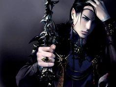 elfos guerreiros com cabelos pretos - Pesquisa Google