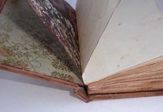 Rony's handmade: Записная книжка и МК по самодельному переплету