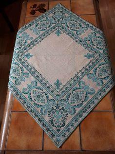 Cross Stitching, Embroidery Stitches, Elsa, Quilts, Pattern, Panama, Cross Stitch Embroidery, Punto De Cruz, Embroidery