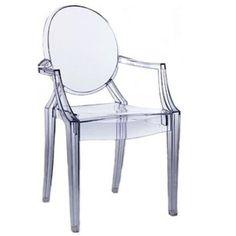 Louis Ghost chair  Philipe Stark for Kartel