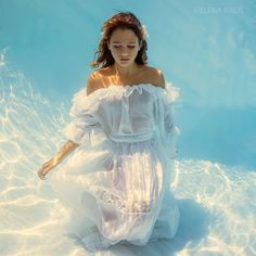 Snow White - Underwater Photography by Elena Kalis
