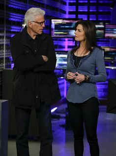 "CSI: NY Photos: ""Seth and Apep"" on CBS.com  D.B. Russell (Ted Danson) and Det. Jo Danville (Sela Ward)  CSI and CSI NY in a cross over episode"