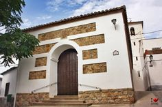 Iglesia de Notáez Garage Doors, Outdoor Decor, Home Decor, Decoration Home, Room Decor, Home Interior Design, Carriage Doors, Home Decoration, Interior Design