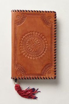 ON SALE Anthropologie Embossed Leather Journal #AnthroFave