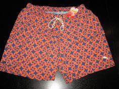 Tommy Bahama New Tidal Tile Cadet Swim Suit Trunks L Large 34-36 waist TR99184 #TommyBahama #Trunks