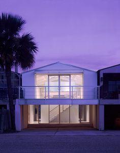 Exterior of Boat House renovation on Lake Pontchartrain, LA