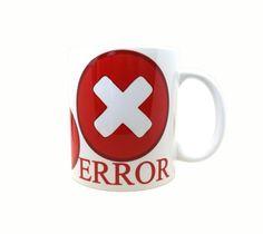 Error Alert Mug - pinned by pin4etsy.com