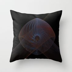 NeonSeries039 Throw Pillow by fracts - fractal art - $20.00