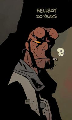 Hellboy 20 Years by Mike Mignola *