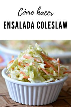 Batch Cooking, Cooking Recipes, Appetizer Recipes, Salad Recipes, Vegetarian Recipes, Healthy Recipes, Taste Made, Coleslaw, Healthy Eating Tips