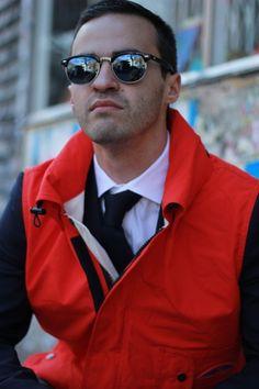 Red vest by  Survivalon