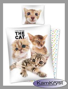 Kolejna nowość w naszym sklepie z kolekcji pościeli ze zwierzętami - pościel z kociętami - prawda, że urocza?