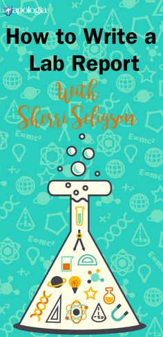 There are several ways to write a lab report, and depending on your class or your instructor, the requirements will vary. But this guide, created by Sherri Seligson, author of Apologia's Exploring Creation with Marine Biology and Internship for High School Credit,  has been developed to help you understand the reason why knowing how to write a lab report is an important part of the science process. It will also introduce the basic structure of one type of write-up.