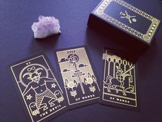 Modern Iconographic Tarot Deck, Golden Thread Tarot Available for ...