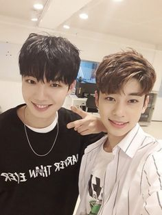 """[➜ HEADLINE] Brand New Music Trainees Im Young Min & Kim Dong Hyun will launch a duet project late July and release a mini-album late August"" Im Youngmin, Kim Dong, Produce 101 Season 2, Cha Eun Woo, Best Memories, Vixx, Perfect Man, My Children, New Music"