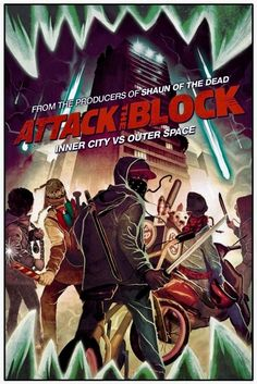 Marvel is holding a special Q and A session with famed director Joe Cornish, and giving away limited edition posters of his latest film Attack Of The Block drawn up by Mike Del Mundo. Horror Movie Posters, Film Posters, Horror Movies, Funny Movies, Good Movies, Attack The Block, Movie Prints, Halloween Movies, Cool Posters