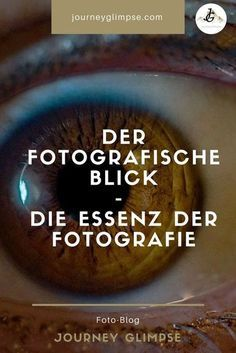 Der fotografische Blick ist mitunter das Wichtigste in der Fotografie. Im Foto-B The photographic view is sometimes the most important thing in photography. In the photo … – the The post The fotog Types Of Photography, Photography Tips For Beginners, Photography Lessons, Photography Courses, Photography Tutorials, Vintage Photography, Digital Photography, Nature Photography, Photography Ideas