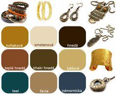 Farby - Neutrálne farby pre teplé typy