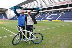 Preston North End boss gears up for his own charity challenge