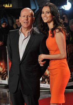 Bruce Willis, 59, with wife Emma Heming, 36. The pair have been married for six years