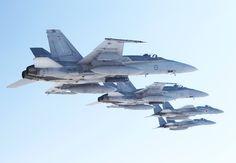 RAAF F/A-18 Hornets with JAF F-15 Eagles