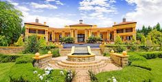 exotic mansions in south Africa Rich Home, Luxury Villa, Stairways, House Design, Mansions, Architecture, House Styles, Pools, South Africa
