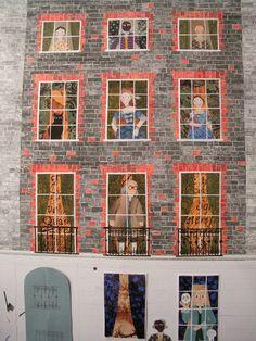 Amanda White - Contemporary Naive Art: Ben Franklin & Co