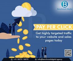 Benchmark Media offer Pay Per Click campaign management services with remarketing features and ensure high ROI, Quality traffic to increase online sales. #digitalmarketingagency #digitalmarketing #SEO #SMM #SMO #onlinemarketing #smallbusiness #onlinebusiness #ecommercebusiness #EmailMarketing #SMOServices #businessleads #FacebookAdvertising #brand #digitalservices #Digitalmarketingservices E Commerce Business, Online Business, Digital Marketing Services, Email Marketing, Competitor Analysis, S Mo, Online Sales, Campaign, Management