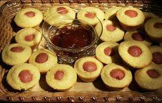 Moveable Feasts: Super Bowl Food: Mini Corn Dog Muffins