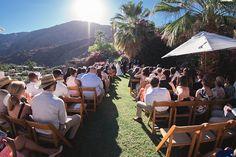 desert wedding, the O'Donnell House, Palm Springs Wedding