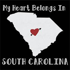 native:My heart belongs in SOUTH CAROLINA native t-shirt state
