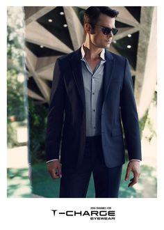 Josh Duhamel Rocks Shades & Optical Eyewear for T Charge 2014 Campaign image Josh Duhamel T Charge Eyewear Campaign 003