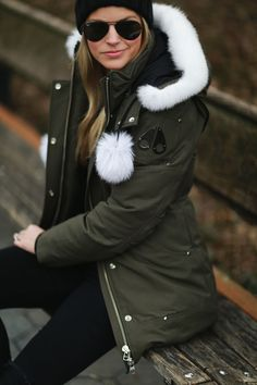 WINTER PARKA - Styled Snapshots, Moose Knuckles, Central Park, NYC, New York City, Winter Fashion, Winter Coats