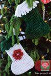 Free Christmas Craft Patterns | Christmas Wreath Patterns | Free Patterns | Yarn