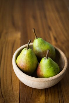 Pears & a new post!