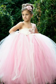 I LOVE the poofy dress idea for the flower girl.........Vintage Dream by PoufCouture on Etsy, 124.95