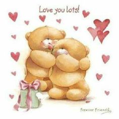 Forever friends - love you lots Cute Teddy Bear Pics, Teddy Bear Quotes, Teddy Bear Hug, Teddy Bear Pictures, Tatty Teddy, Cute Bears, Bear Hugs, Valentines Day Images Free, Blue Nose Friends